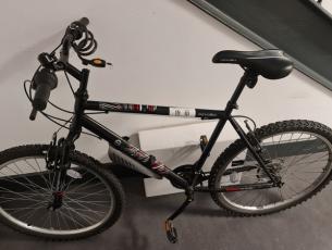 The bike handed into Tralee Garda Station.