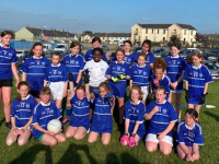 Kerins O' Rahilly's U12s who played Listowel Kittens last Monday evening .
