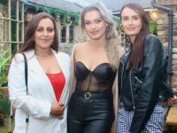 Niamh O'Carroll, Mary Appleby and Catriona O'Connor at Molly J's Courtyard Bar at Benners on Friday. Photo by Dermot Crean