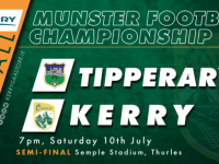 3,500 Allowed To Attend Tipperary v Kerry Clash