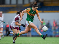 Louise Galvin of Kerry in action during the TG4 Ladies Football All-Ireland Championship Group 4 Round 1 match between Galway and Kerry at Cusack Park in Ennis, Clare. Photo by Brendan Moran/Sportsfile