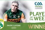 Paudie Clifford Voted GAA.ie Footballer Of The Week