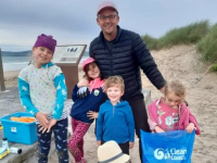 Volunteers Collect Over 30 Bags Of Rubbish From Banna Beach