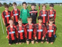 The Park U12 side taking part in the tournament. Photo by Dermot Crean