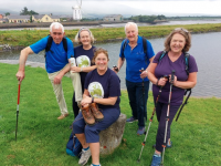 Launching the Kerry Camino walk which takes place in September were Mike O'Donnell, Adrienne McLoughlin, Grace O'Donnell, Billy Nolan and Ingrid Boyle.