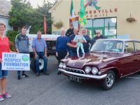 At the launch of the Vintage Run in aid of Kerry Hospice this weekend. Photo by Dermot Crean