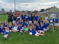 Only loving training with their fantastic coaches are Kerins O' Rahilly's U9s