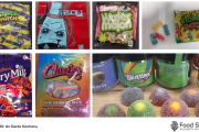Products containing cannabis are intentionally packaged to resemble popular brands of jellies in order to avoid detection.