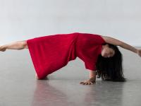 Dancer In Residence Monica Munoz.