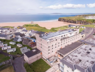 The Gold Hotel in Ballybunion.